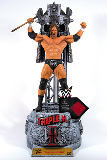 Triple H WWE Icon Series Resin Statue McFarlane (Hand-Signed by Triple H)