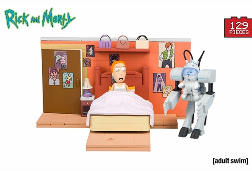 You Shall Call Me Snowball (Rick and Morty) Medium Set McFarlane Construction Set