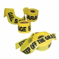 "1000' X 3"" Keep Off Grass Yellow Safety Tape - #Bt1000"