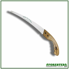 "Forester 13"" Premium Pruning Saw With Straight Wooden Handle Combo"
