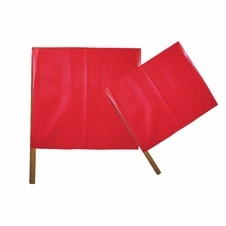 "Forester 18"" X 18"" Red Vinyl Flag"