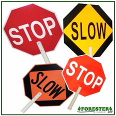 """18"""" X 18"""" Stop/Slow Road Sign #9552"""