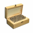 "3/16"" X 2-3/8"" Letter & Number Punch Boxed Set - #T9095"