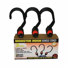 """36"""" (3) Piece 5"""" Hook Bungees - 2"""" Mouth. Part #Pn201"""