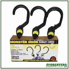 """48"""" (2) Piece 5"""" Hook Bungees - 2"""" Mouth. Part #Pn202"""