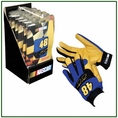 #48 Jimmie Johnson Deer Skin Gloves #5471003
