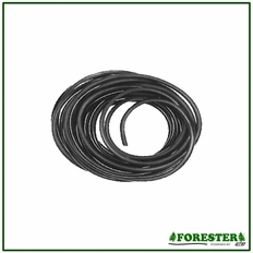 "50' Forester Black Rubber Fuel Line - 1/8"" ID x 1/4"" OD"
