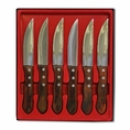 6 Piece Jumbo Steak Knife Set #Ctszw6
