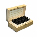 "8mm X 2-1/2"" Letter & Number Punch Boxed Set - #T9099"