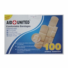 Aid United Sterile Bandages #95106
