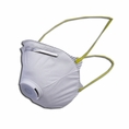 Box Of 10 Niosh N95 Approved Valved Particulate Respirators #Sh9550v