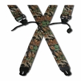 Forester Camo Button Suspenders #5540a