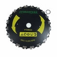 """Forester Chainsaw Tooth Brushcutter Blade - 9"""" Diameter x 1"""" Arbor"""