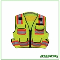 Forester Class 2 Heavy Duty Surveyor Vest - #Vest34