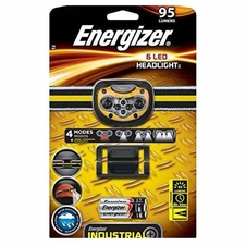 Energizer 6 LED 95 Lumens Headlight w/ Reflective Stripe Head Strap - Battery Included
