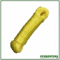 "Forester 1/4"" x 50' Polypropylene Weather Resistant Rope"