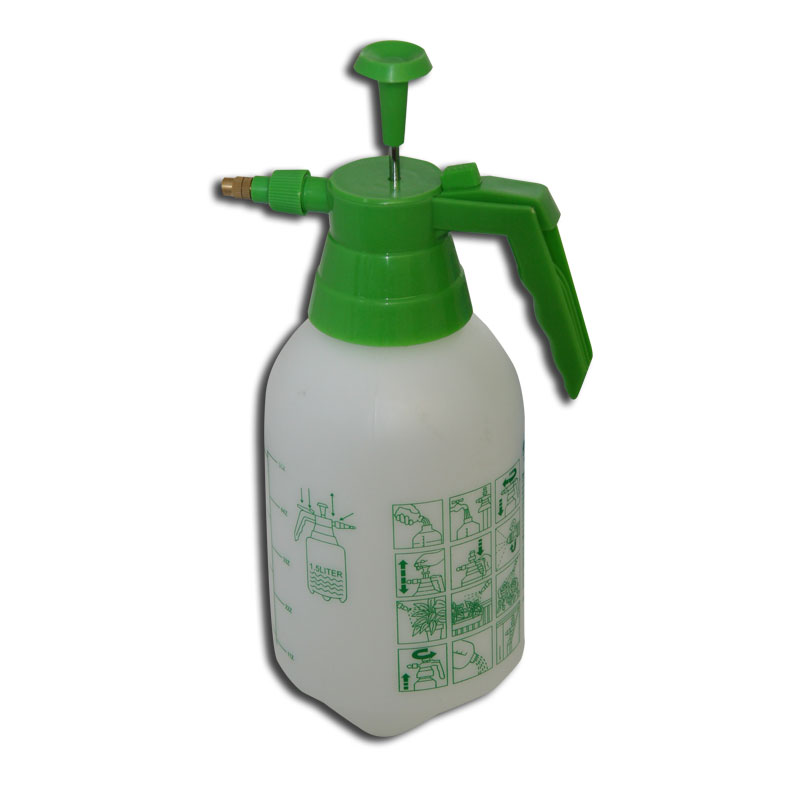 how to use pressure sprayer