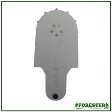 Forester 1 Rivet Tip Bar Sprocket Nose- .325 .050/.063
