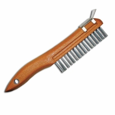 Forester 10 Wire Brush W/ Metal Scraper #Swbp