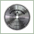 """Forester 60 Tooth Carbide Tip Brush Blade - 10"""" x 1"""" / 20mm Arbor -  FORCB1060"""