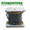 "Forester 100ft Roll - 3/8""ext .043 Low Profile Reduced Kickback Chain Saw Chain"
