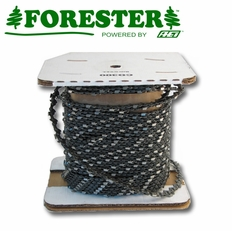 "Forester 100FT Roll - 3/8""ext .050 Low Profile Non-Safety Full Chisel Chain Saw Chain"