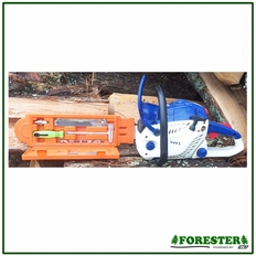 "Forester 17"" Bar Guard w/ Built in Tool Maintenance Box - 11/64"" File"