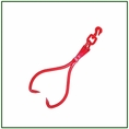 """Forester 32"""" Jaw Opening Swivel Skidding Tongs"""