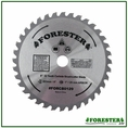 "Forester 32 Tooth Carbide Tip Brush Blade - 8"" x 1"" / 20mm Arbor - FORCB0129"