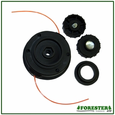 "Forester 4"" Dual Line Tap-N-Go Head #For1222"