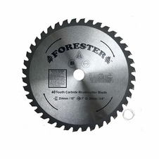 "Forester 40 Tooth Carbide Tip Brush Cutter Blade - 10"" x 1"" / 20mm Arbor"