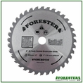 "Forester 40 Tooth Carbide Tip Brush Blade - 8"" x 1"" / 20mm Arbor - FORCB0130"
