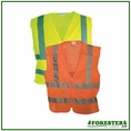 Forester 5 Point Tear-away Class 2 Mesh Body Zipper Front Vest - Vest4/7