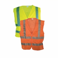Forester 5 Point Tear-away Class 2 Mesh Body Zipper Front Vest