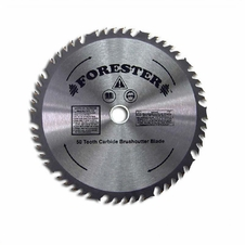 "Forester 50 Tooth Carbide Tip Brush Cutter Blade - 10"" x 1"" or 20mm Arbor"