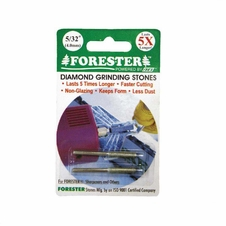 Forester Diamond Grinding Stones - 2 Pack