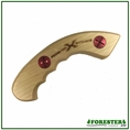 """Forester 7"""" Straight Wooden Saw Handle - Fits Silky Zubat 330mm Blade"""