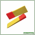 """Forester 8"""" Single Tapered Chain Saw Wedge W/ 1-1/4"""" Lift"""