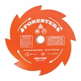 """Forester 8 Tooth Brush Cutter Blade - 8"""" Diameter x 1"""" or 20mm Arbor"""