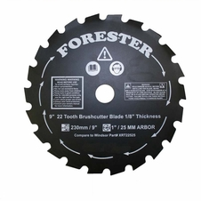 "Forester 9"" 22 Tooth Brush Cutter Blade"