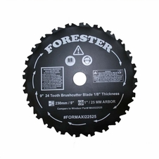 "Forester 9"" 24 Tooth Brush Cutter Blade"