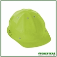 Forester Aluminum Cap Style Hard Hat - Safety Green