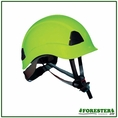 Forester Arborist Climbing Helmet - Safety Green