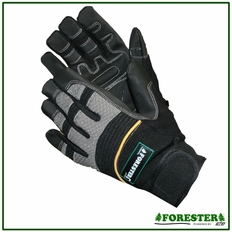 Forester Black Synthetic Leather Gloves #Fogl1024