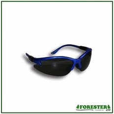 Forester Rugged Frame Safety Glasses - Clear & Smoke Lens
