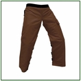 "Forester Brown Regular 37"" Apron Style Chainsaw Chaps"