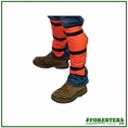 Forester Brush Gaiters Trimmer Debris Protection - Orange