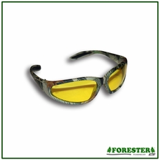 Forester Camo Wrap Around Safety Glasses - (Mixed Lens)