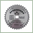"""Forester 36 Tooth Carbide Tip Brush Blade - 9"""" x 1"""" / 20mm Arbor -  FORCB0131"""