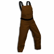 Forester Chainsaw Protective Chap Bibs - Brown